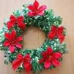 クリスマスリースを手作りしよう!簡単にできる子供向けの工作!